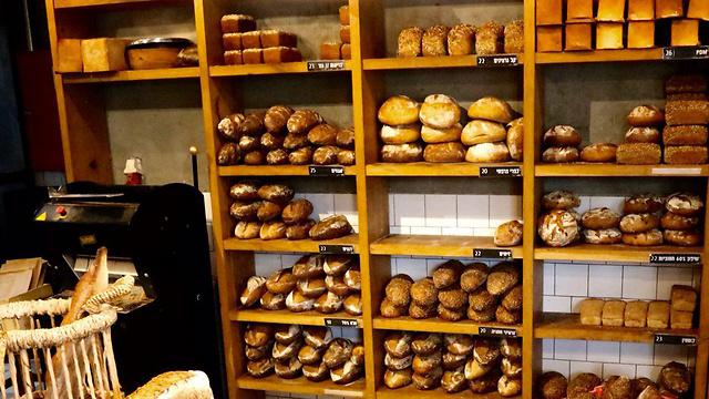 לחם לכל דורש, מכל הסוגים (צילום: מוטי קמחי)
