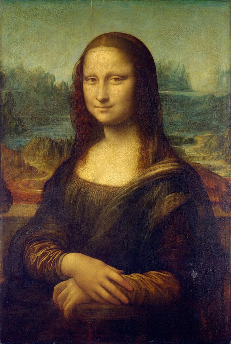 המונה ליזה. צוירה ב-1503