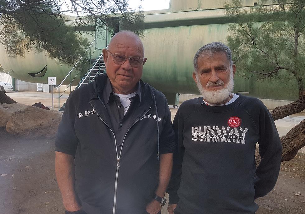 Eitan Lipschitz (L) and Abraham Dror (Photo: Assaf Kamar)