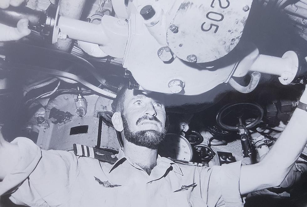 Abraham Dror (Photo: Naval Museum)
