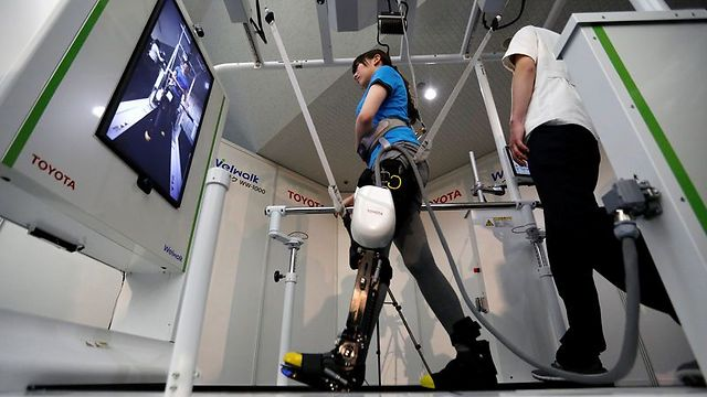 הרגל הרובוטית. שיקום טוב יותר מפיזיותרפיה