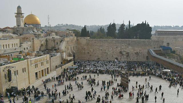 הכותל המערבי בירושלים (צילום: אלי מנדלבאום)