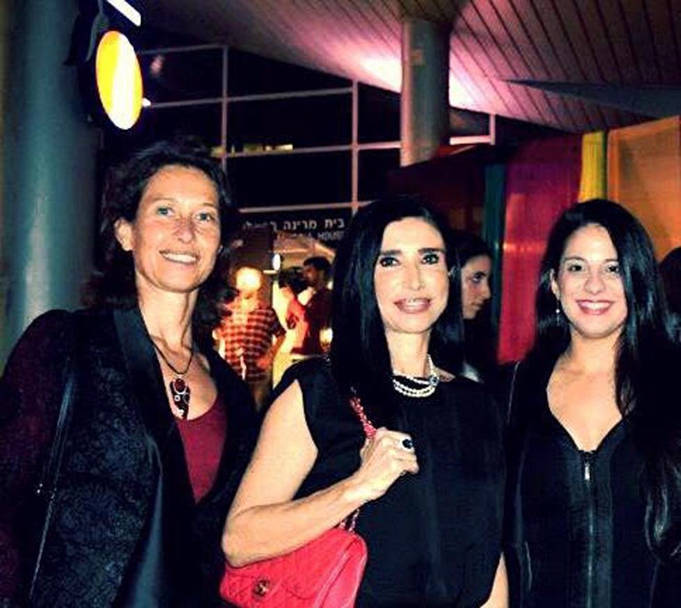 אירית ישראל, נטלי מימון וברברה סוסניק (צילום: סילבי גולן)