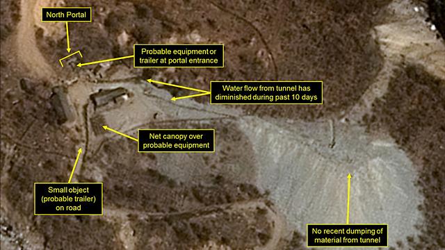 אתר גרעיני בצפון קוריאה. ארכיון ()