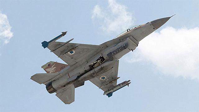 מטוס F16 של חיל האוויר  (צילום: AFP)