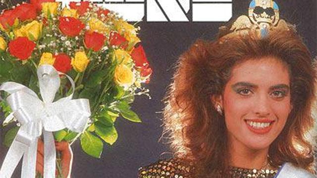 """דרוקר ששון על שער לאשה לאחר הזכיה ב- 1986 (ארכיון """"ידיעות אחרונות"""")"""