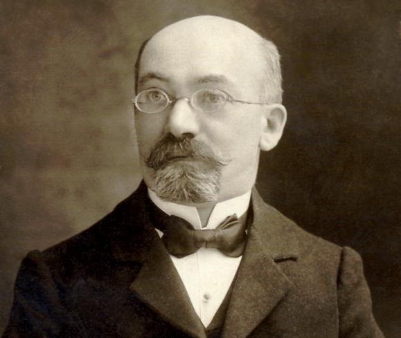 זמנהוף בתמונה שצולמה ב-1904 באוסטריה (צילום: מתוך ויקיפדיה)