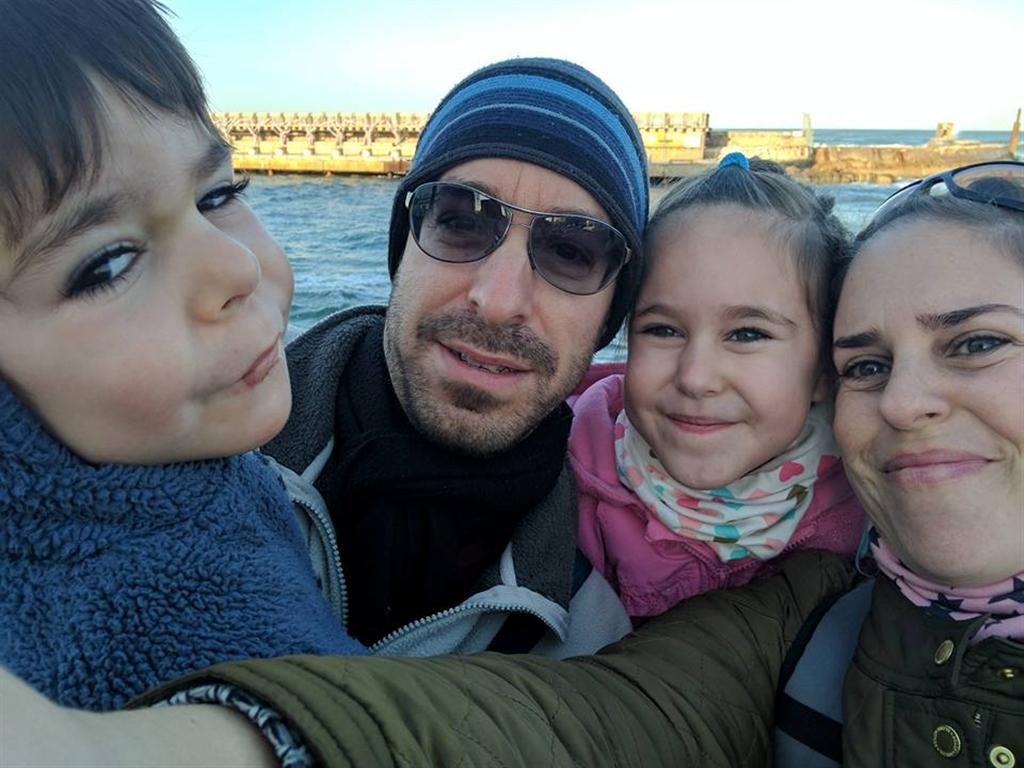 """לירון גור שטייגמן: """"מעדיפה להיות בבית, בסביבה המוכרת"""" (צילום: אלבום משפחתי)"""
