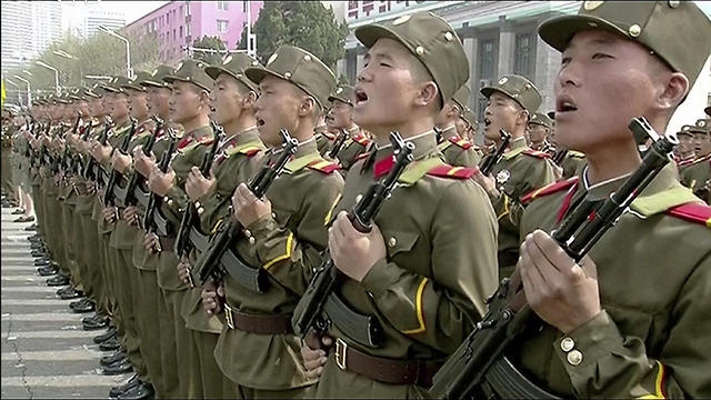 2 מיליון בכוחות הצבאיים. צפון קוריאה (צילום: AP)