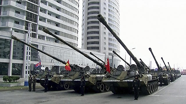 Military parade in North Korea (Photo: AP)