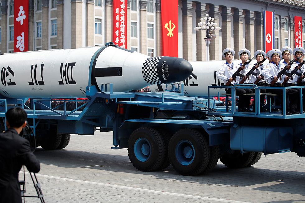 North Korea displays their missiles in a show of power (Photo: Reuters) (Photo: Reuters)