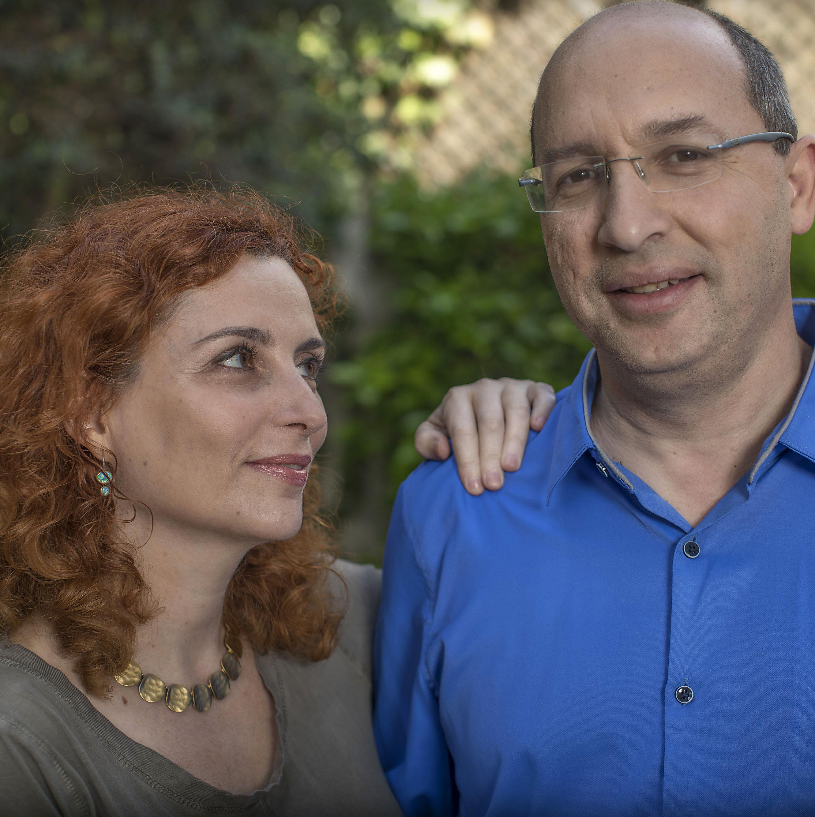אבי ניסנקורן ואישתו אנדריאה | צילום: אלי דסה