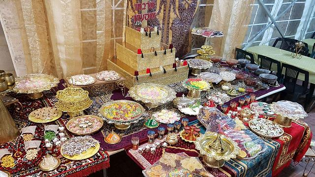 A Mimouna spread (Photo: Barel Efraim)