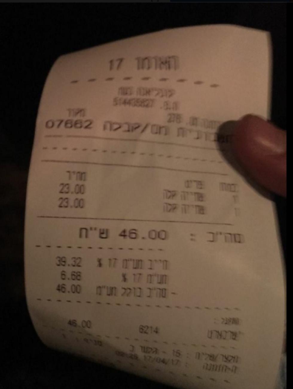 מי ששותה אלכוהול מחוץ למועדון יישלם את המחיר במים?