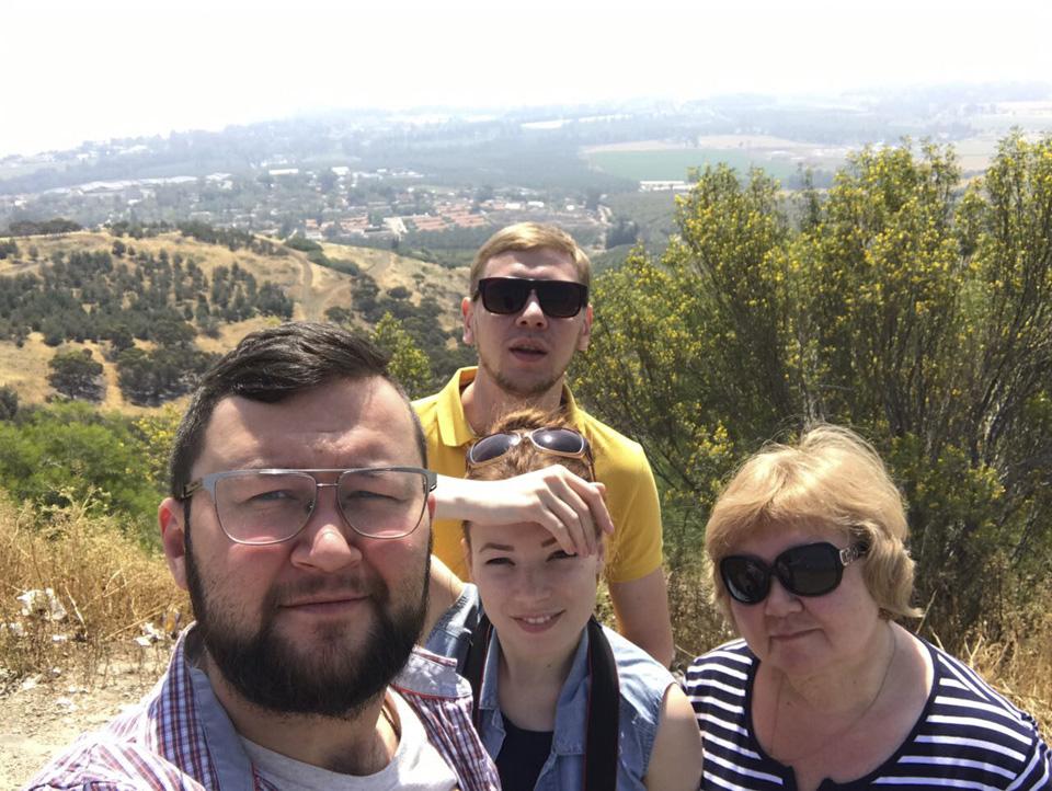 Гости с мужем путешествуют по Израилю. Фото: Саша Мочалова