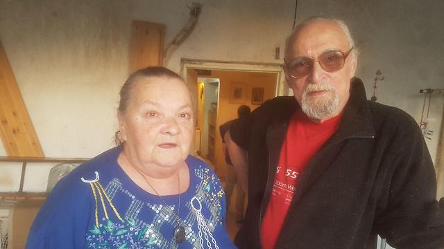 Эрнест Равицкин с супругой. Фото: Асаф Кемер