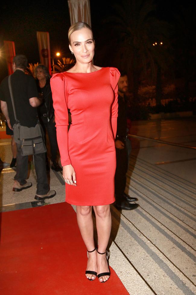 """מלכה לב אדום. אילנית לוי אמש בפרימיירה של """"ג'ודה"""" (צילום: ענת מוסברג)"""