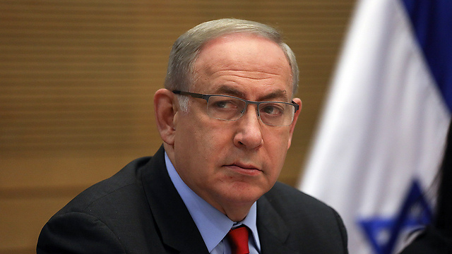 Prime Minister Netanyahu. The Israeli discourse has been drowning in a toxic ocean of labels (Photo: Ohad Zwigenberg) (Photo: Reuters)