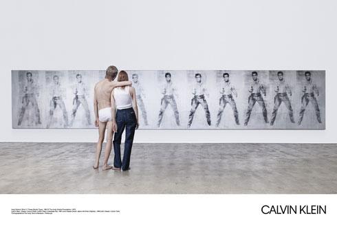 רוצים לקבל הכרה במעמד של התחתונים ופריטי הג'ינס. קלווין קליין (צילום: Willy Wanderperre)