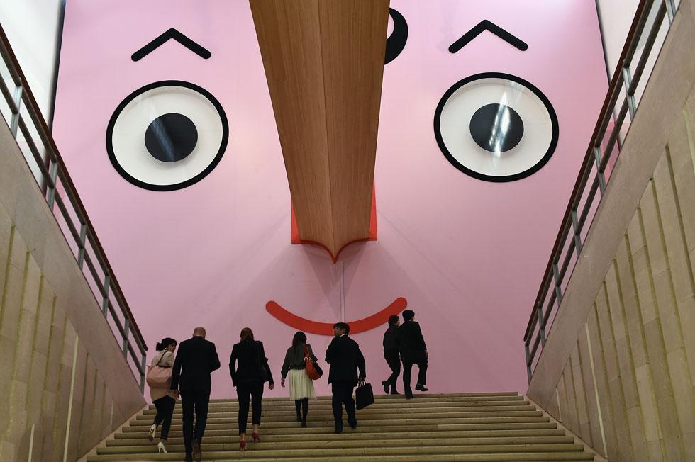 הבחירה של שרית שני חי: תערוכת העיצוב לילדים במוזיאון הטריאנלה, שנפתחה בכניסה דרך פרצופו של פינוקיו (צילום: Gettyimages)