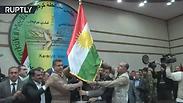 הדגל הכורדי שמסעיר את עיראק