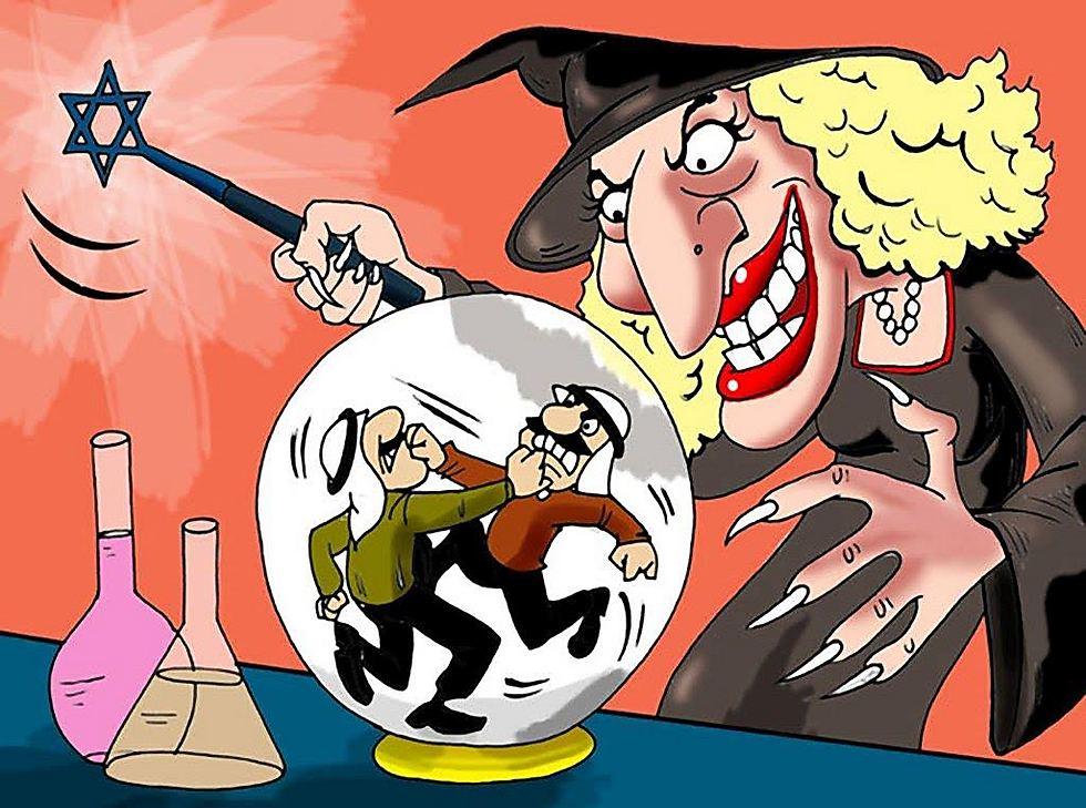 """אנטישמיות מודרנית במדינות ערב (מתוך התערוכה """"תעשיית השנאה"""" במוזיאון משואה)"""