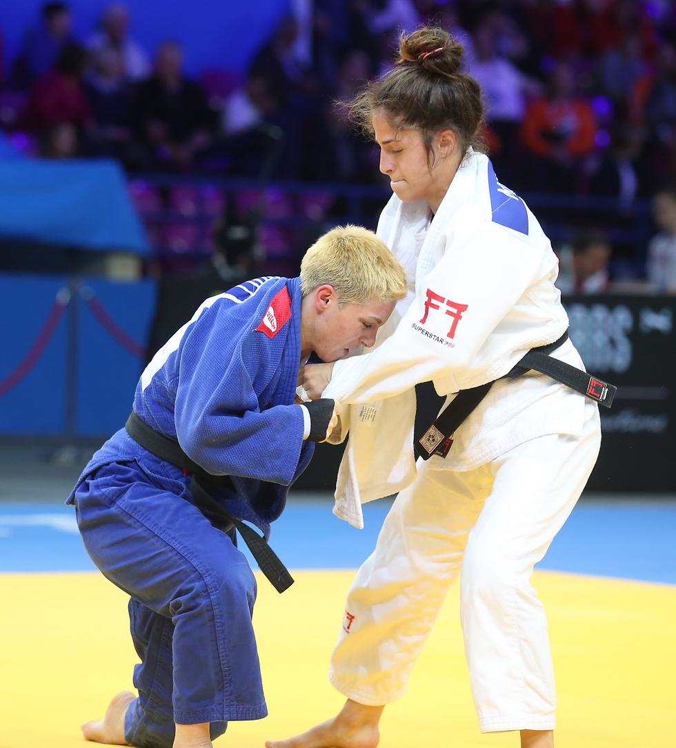 בקרוב בישראל. אליפות אירופה בג'ודו (צילום: אורן אהרוני)