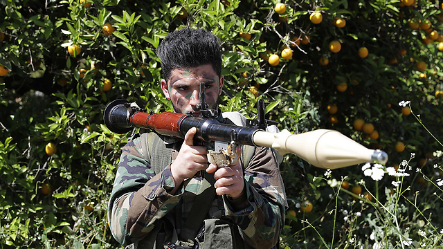 Hezbollah militant in Lebanon (Photo: AFP)
