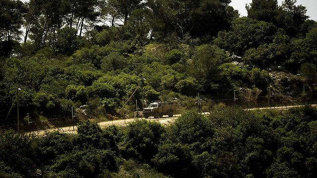 IDF patrols along the Israeli side of the border (Photo: AFP) (Photo: AFP)