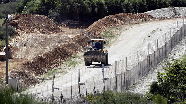 Israeli defensive construction (Photo: AFP) (Photo: AFP)