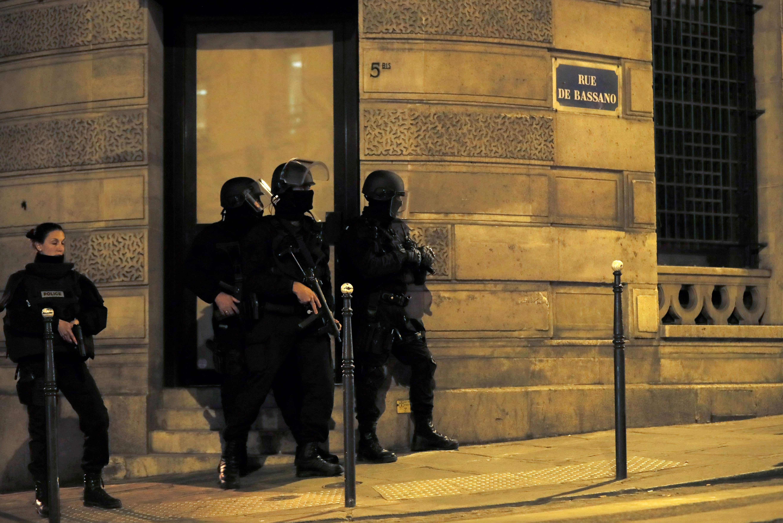 Теракт в Париже. Фото: AFP