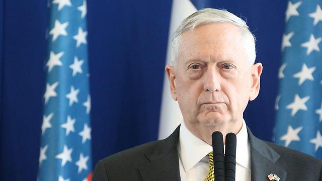 Defense Secretary Mattis (Photo: Motti Kimchi) (Photo: Motti Kimchi)