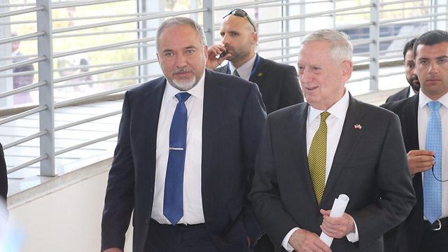 Министры обороны США и Израиля. Фото: Моти Кимхи