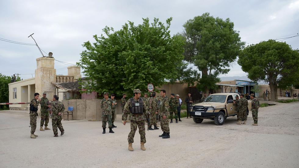 הבסיס שאותו תקפו אנשי הטליבאן (צילום: AFP) (צילום: AFP)