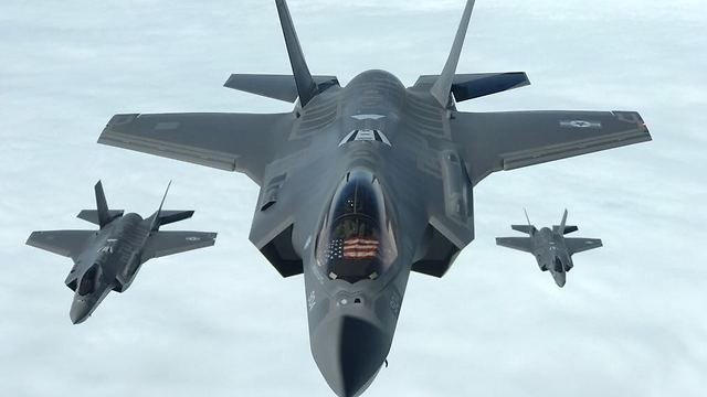 F-35 jets in action (Photo: IDF Spokesperson's Unit) (Photo: IDF Spokesperson's Unit)