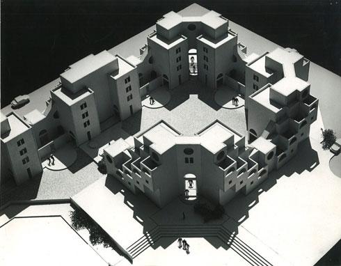 כיצד השפיע הגטו על האדריכלות של סלו הרשמן בישראל? לחצו על התצלום (באדיבות ארכיון אדריכלות ישראל)