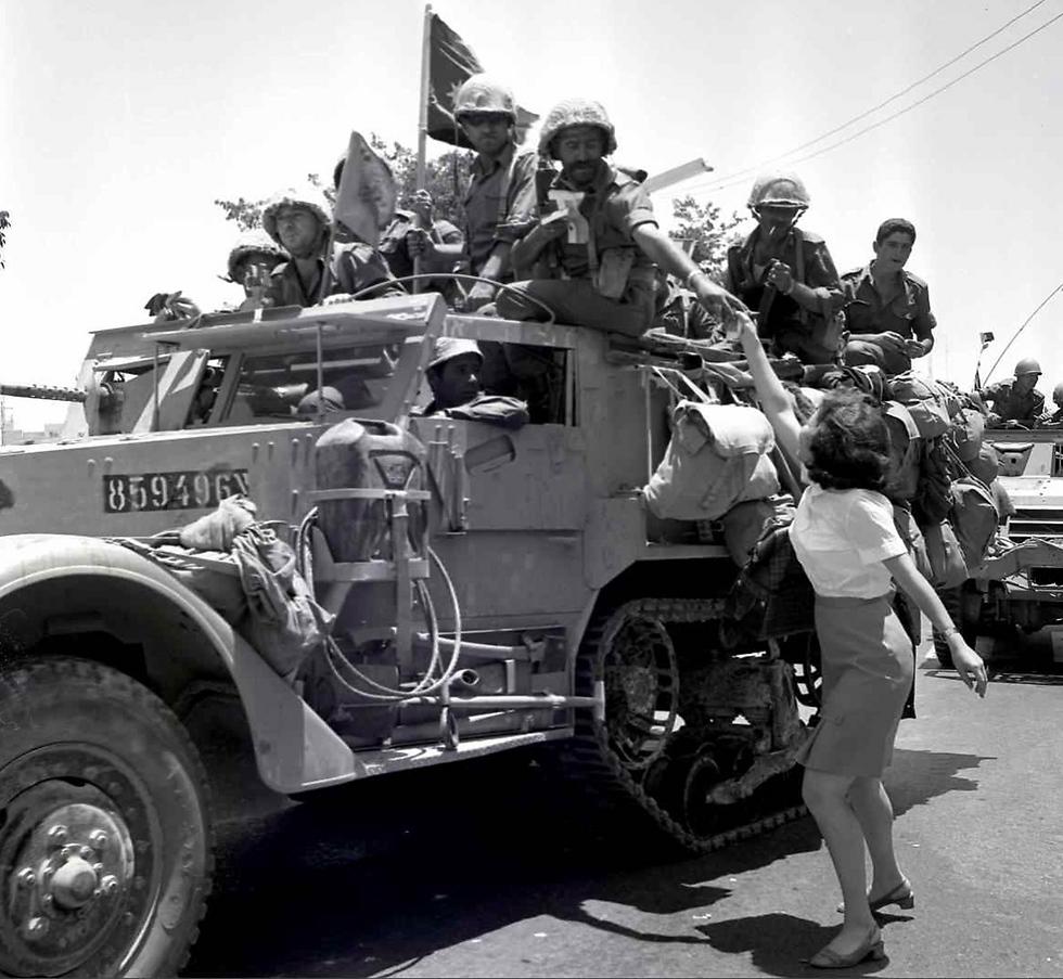 Jerusalem, Juner 18, 1967 (Photo: Moshe Friedman/GPO)