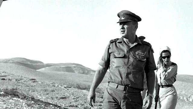 Yitzhak Rabin, a day after the war (Photo: Shlomo Lavi/GPO)