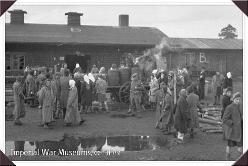 כך בדיוק נראו הברקים (צריפים) בהם חיינו (צילום ארכיון) (צילום:  Imperial War Museums, cc)