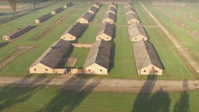 Auschwitz from above (Photo: Bild)