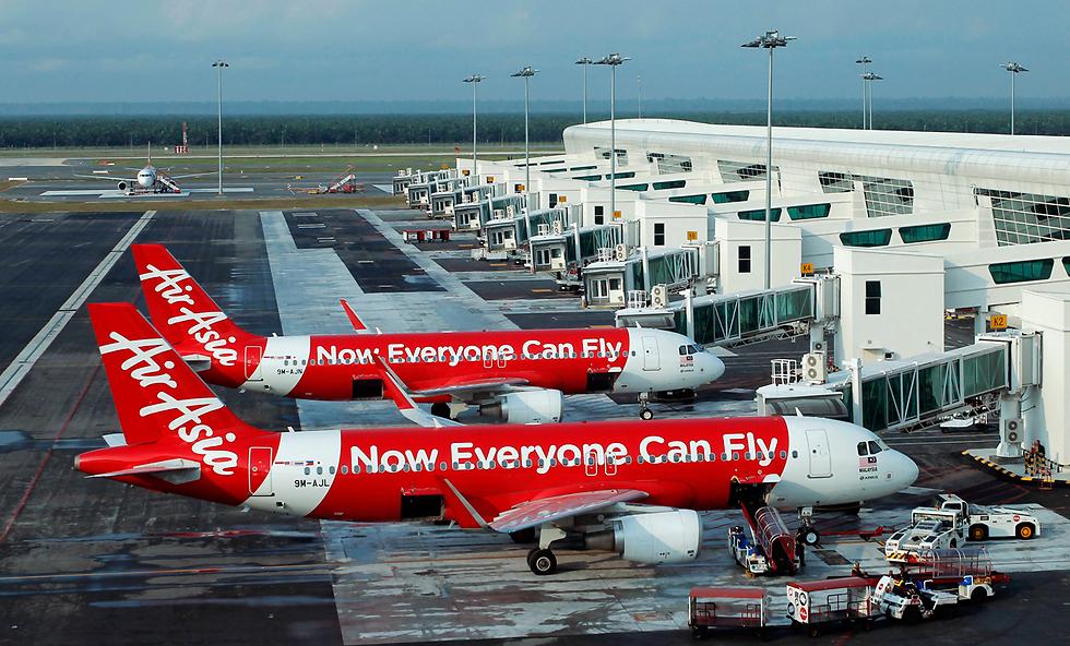 מטוסי חברת אייר אסיה (צילום: רויטרס) (צילום: רויטרס)
