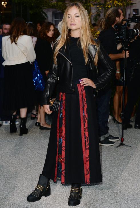 מבלה בשבוע האופנה בלונדון. ווינדזור בתצוגה של ברברי, 2016 (צילום: rex/asap creative)