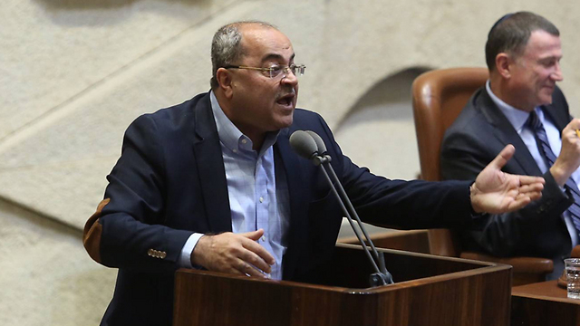 MK Tibi. 'Trump's Jerusalem speech was unnecessary, wrong and unwise' (Photo: Gil Yohanan)