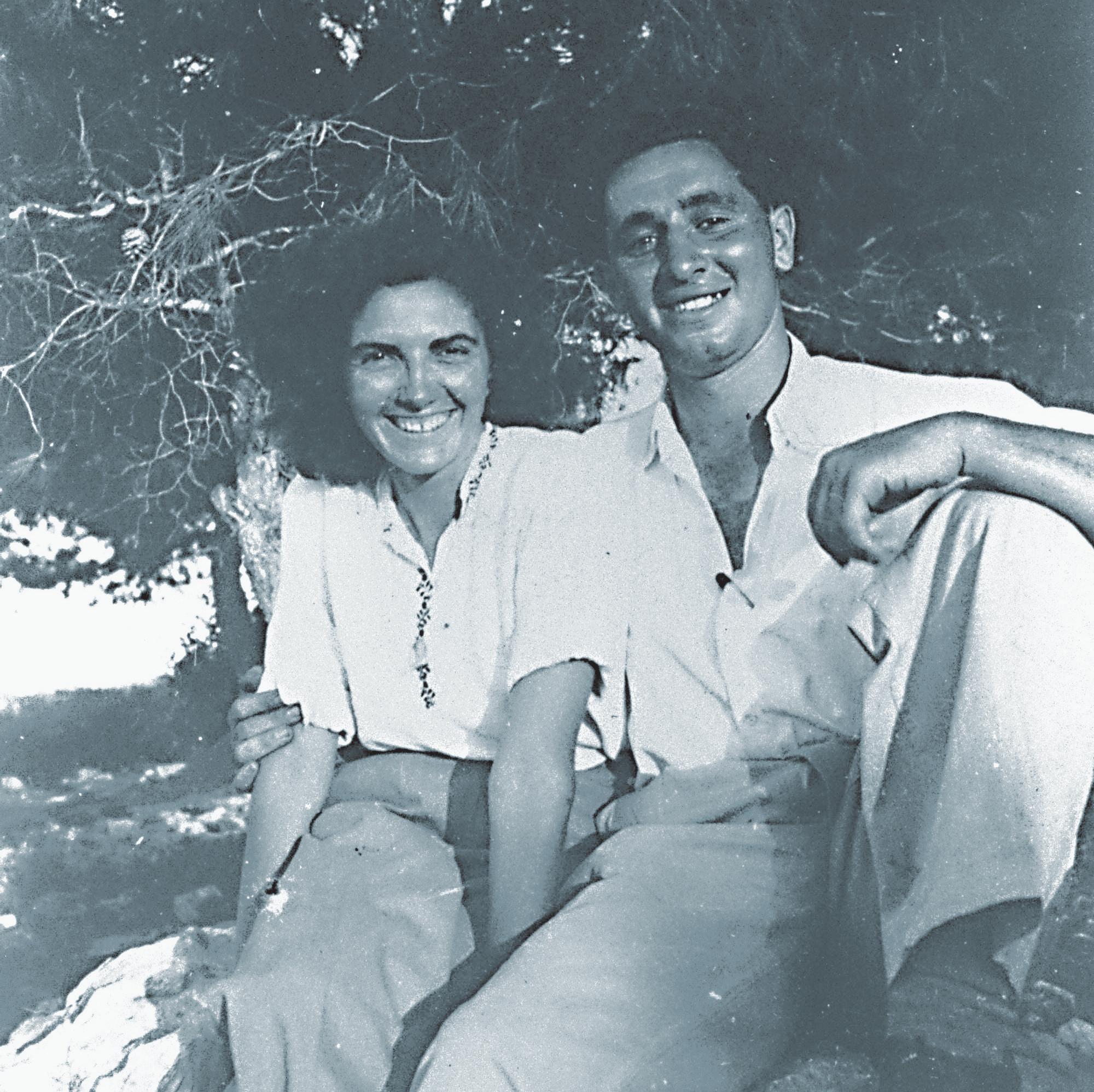 עם סוניה, כזוג צעיר
