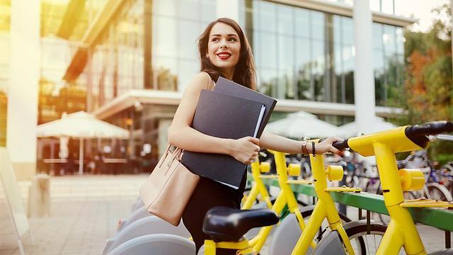 תרבות רכיבה על אופניים. בקרוב אצלנו? (צילום: shutterstock) (צילום: shutterstock)