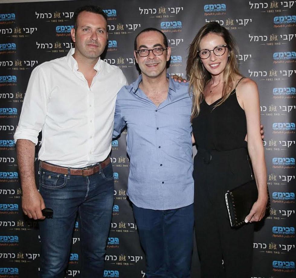 מלי לוי מורדי ושמעון גרשון (צילום: שוקה כהן)