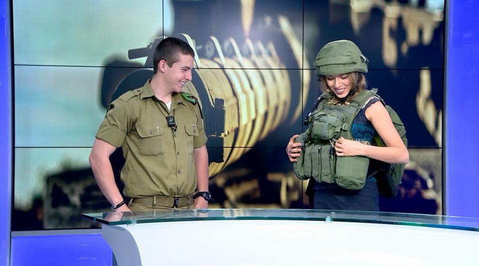 Ефрейтор Алон Песлин и журналист Ноа Лави