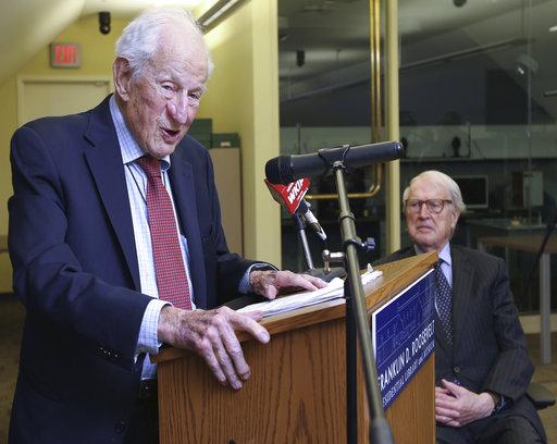 Henry Morgenthau, Jr. Holocaust Collections launch ceremony (Photo: AP)