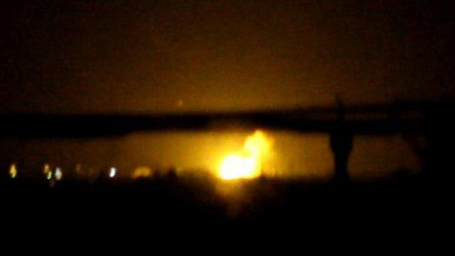 BBC Израиля обстреляли военную базу врайоне аэропорта Дамаска