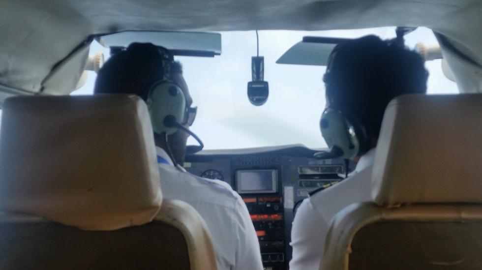 טיסות פרטיות מקצרות את דרכי ההגעה (צילום: יפעת יגר)